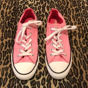 All Star Washed Neon Pink Converse NWT